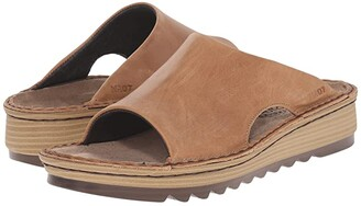 Naot Footwear Ardisia (Latte Brown Leather) Women's Sandals