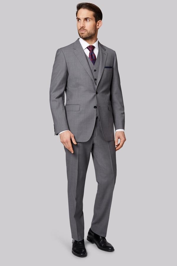 Ermenegildo Zegna Cloth Regular Fit Light Grey Jacket