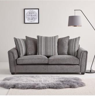 Ezra3 Seater + 2 Seater Scatter Back Fabric Sofa Set