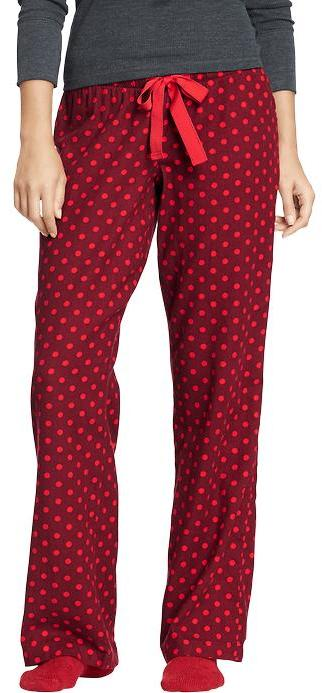 Old Navy Women's Printed Flannel PJ Pants