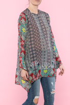Johnny Was Loose Flair Tunic