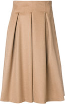 Max Mara full pleated skirt