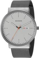 Skagen Men's SKW6321 Ancher Titanium Grey Leather Watch