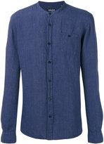 Woolrich Korean collar shirt - men - Linen/Flax - S