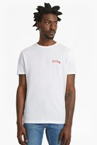 French Connection Sunset Palms Printed Back T-Shirt