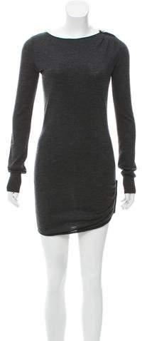 Azzaro Wool Mini Dress