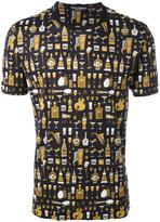 Dolce & Gabbana jazz print T-shirt - men - Cotton - 58
