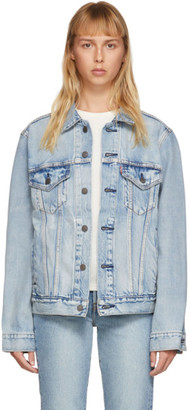 Levi's Levis Blue Vintage Fit Trucker Denim Jacket