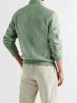 Valstar Suede Harrington Jacket