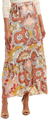 BCBGMAXAZRIA Maxi Wrap Skirt