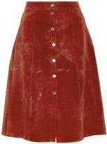 A.L.C. Adrienne Suede Skirt