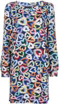 Love Moschino hearts print dress