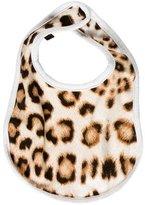 Roberto Cavalli Girls' Leopard Print Bib
