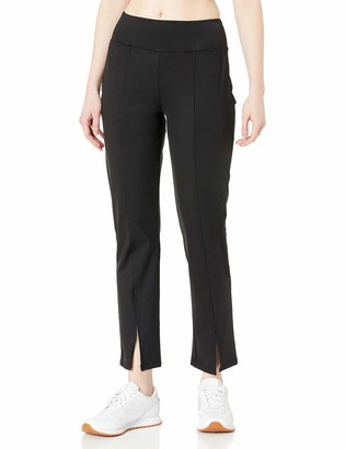 Betsey Johnson Women's Split Hem Skinny Pants