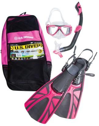 US Diver Bonito Junior Snorkel Set Pink S / M