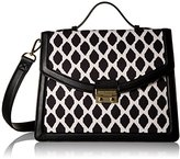Vera Bradley Polyester Twill Convertible Cross-Body Bag
