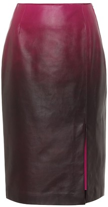 Dorothee Schumacher Degrade Softness leather skirt