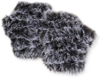 Jocelyn Mandy Fingerless Snowtop Faux Fur Mittens