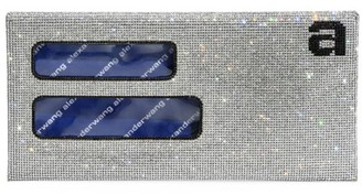 Alexander Wang Wangloc Rhinestone Envelope Clutch