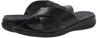 SoftWalk Tillman (Black Soft Nappa Leather) Women's Shoes