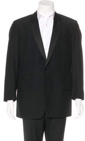 Gucci Wool Two- Button Blazer