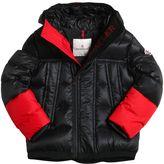 Moncler Drake Hooded Nylon Down Jacket