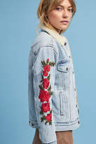 Levi's Embroidered Sherpa Trucker Jacket