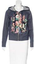 Love Moschino Printed Zip-Front Jacket