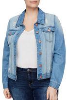 Junarose Makira Button-Front Denim Jacket