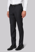 Hardy Amies Tailored Fit Grey Clear Cut Trousers