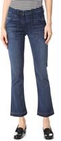 3x1 W2 Military Crop Boot Cut Jeans