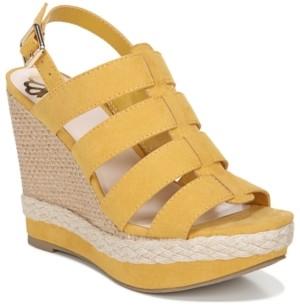 Fergalicious Violet Wedge Dress Sandals Women's Shoes