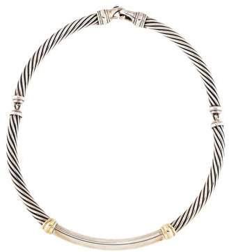 David Yurman Metro Cable Necklace