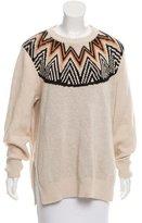 Mara Hoffman Printed Oversize Sweater