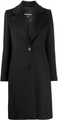 Patrizia Pepe Single-Breasted Mid-Length Coat