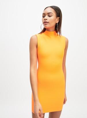 Miss Selfridge OH MY DAYS Orange Bodycon Dress
