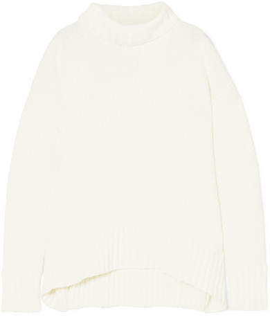 Joseph Sloppy Joe Cotton-blend Turtleneck Sweater