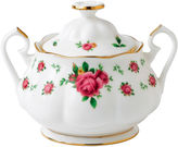 Royal Albert White Vintage Covered Sugar Bowl