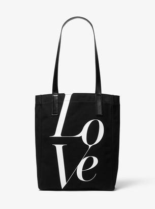 MICHAEL Michael Kors Watch Hunger Stop LOVE Tote Bag