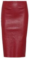 Stouls Gilda leather skirt