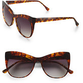 Lafayette Cat's-Eye Oversized Sunglasses