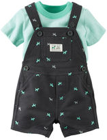Carter's 2-Piece Tee & Shortalls Set