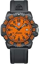 Luminox 3059.GG Men's Sea Navy Seal Colormark Orange Dial Rubber Strap Dive Watch