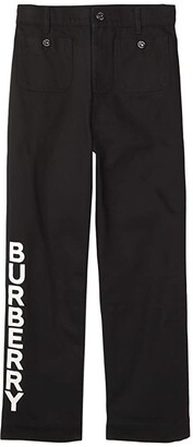 BURBERRY KIDS Nicey Trousers (Little Kids/Big Kids) (Natural White) Girl's Clothing