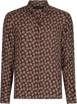 Allsaints Allsaints Serrate Long Sleeve Shirt
