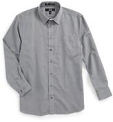 Nordstrom Boy's Smartcare(TM) Zig Zag Dress Shirt