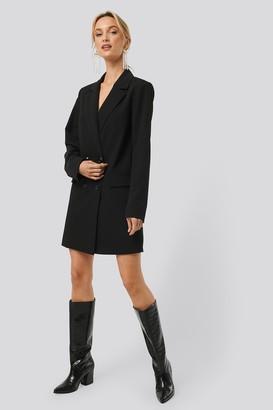 Monica Geuze X NA-KD Double Breasted Blazer Dress