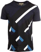 Burberry men's short sleeve t-shirt crew neckline jumper wilmore US size 4037039
