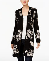 INC International Concepts Embroidered Duster Cardigan, Only at Macy's