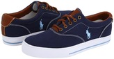 Polo Ralph Lauren Vaughn Canvas/Leather Men's Lace up casual Shoes
